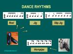 dance rhythms