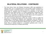 bilateral relations continued4