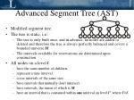 advanced segment tree ast