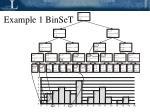 example 1 binset