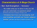 characteristics of a mega church3