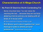 characteristics of a mega church4