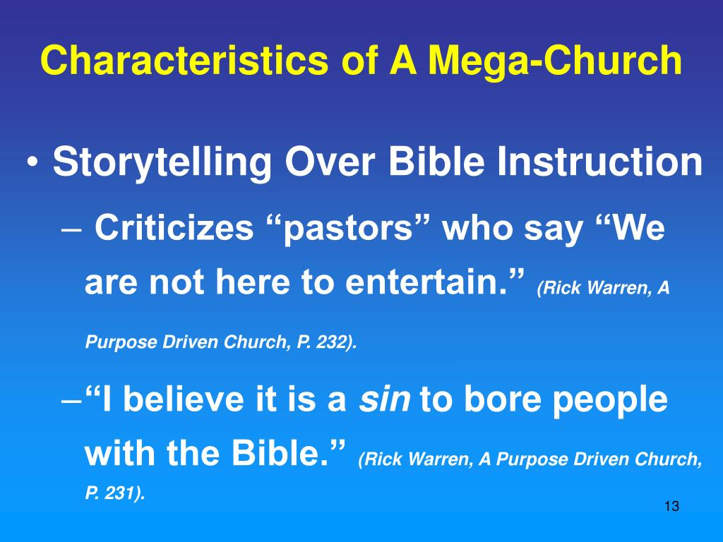 PPT - The Church Growth Movement PowerPoint Presentation