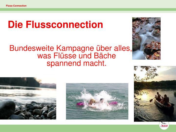 Bundesweite Kampagne über alles, was Flüsse und Bäche spannend macht.