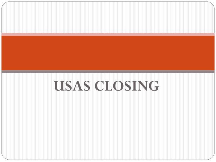 Usas closing