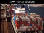 10000 teus containerschip