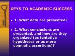 keys to academic success12