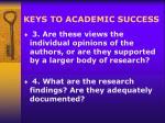 keys to academic success13