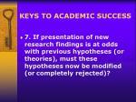 keys to academic success16