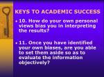 keys to academic success18