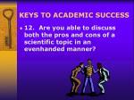 keys to academic success19