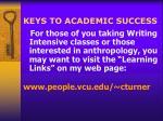 keys to academic success23
