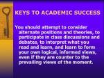 keys to academic success6