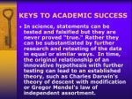 keys to academic success9