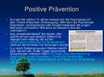 positive pr vention
