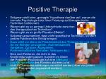 positive therapie