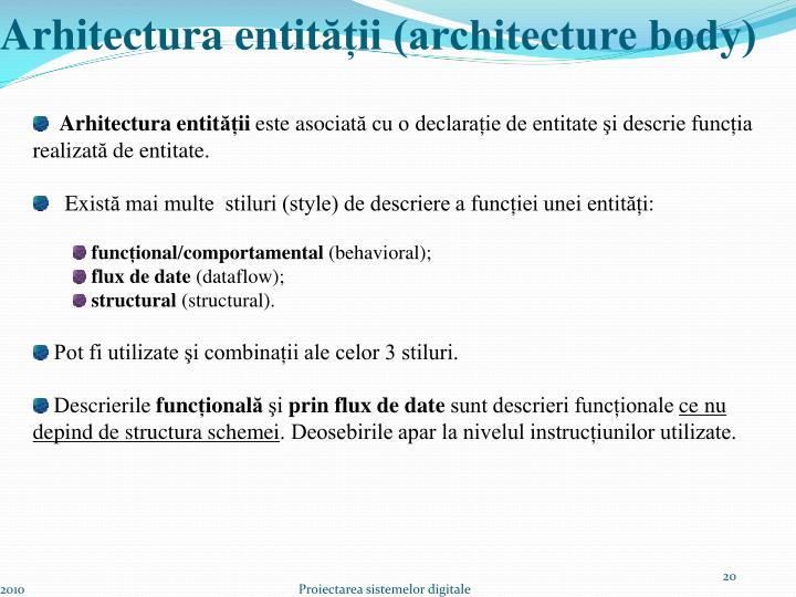 Arhitectura entit