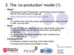 2 the co production model 1
