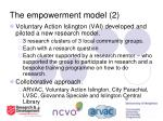 the empowerment model 2