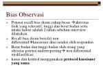 bias observasi
