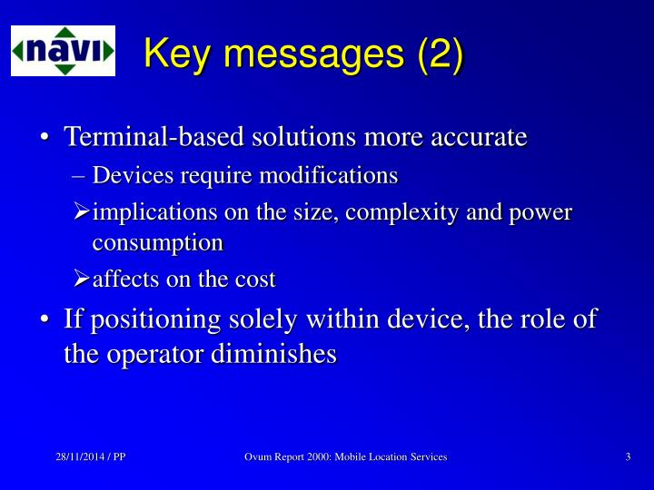 Key messages 2