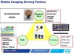 mobile imaging d riving f actors