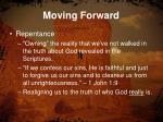 moving forward2