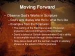 moving forward5