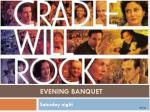 evening banquet