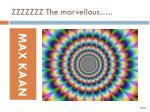 zzzzzzz the marvellous