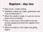 baptism day two
