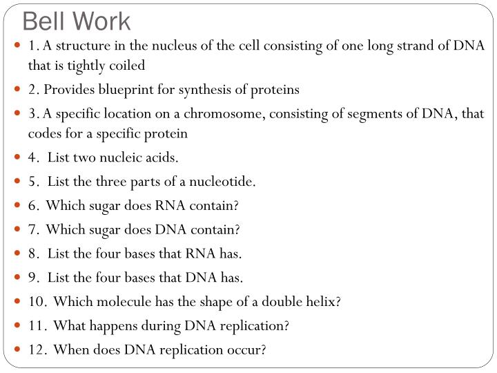 Ppt protein synthesis transcription and translation powerpoint a structure in the nucleus of the cell consisting of one long strand of dna that is tightly coiled 2 provides blueprint for synthesis of proteins malvernweather Choice Image