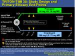 triton timi 38 study design and primary efficacy end points