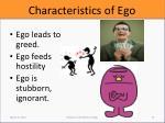characteristics of ego6