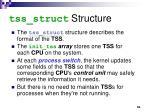 tss struct structure