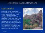 extensive local attractions1