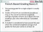 french based grading basics ii