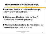 mohammed s worldview d