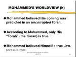 mohammed s worldview h