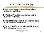 political islam b
