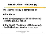the islamic trilogy a