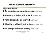 what about jihad e