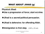 what about jihad g