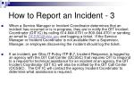 how to report an incident 3