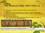 pre medieval india 1000 1400 c e