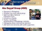 abu sayyaf group asg