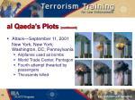 al qaeda s plots continued11