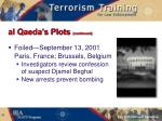 al qaeda s plots continued12