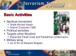 basic activities