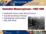 hezbollah metamorphosis 1983 1988